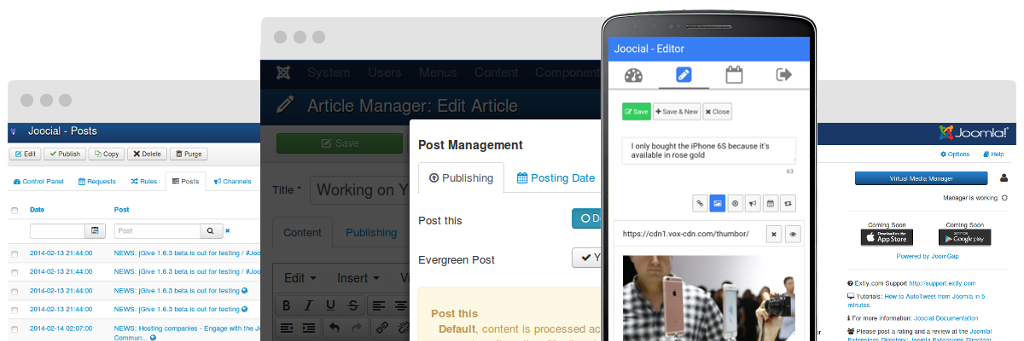 Social Publishing Management
