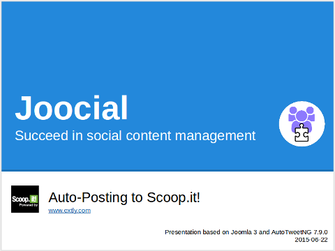 AutoTweetNG Joocial: auto-posting to Scoop.it