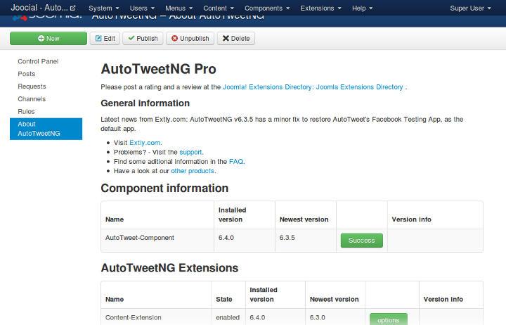 Simple product version management