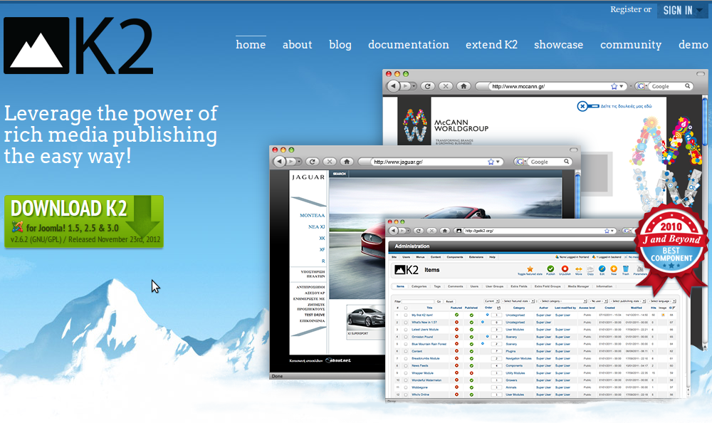 Social Cloud AutoTweetNG Free Auto Posting for K2, the powerful content extension for Joomla