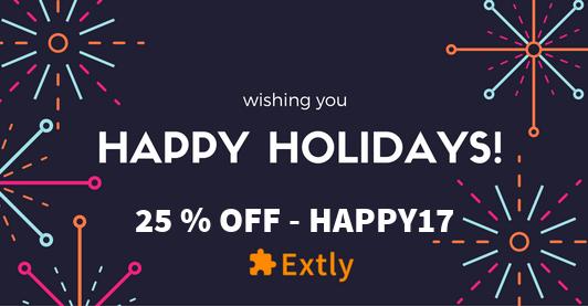 Happy Holidays 2017 Extly Newsletter