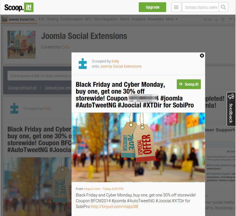 Scoop.it! channel for Joocial