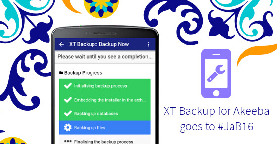 XT Backup goes to Barcelona