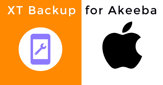 Looking for something new? XT Backup for  Akeeba iOS is here
