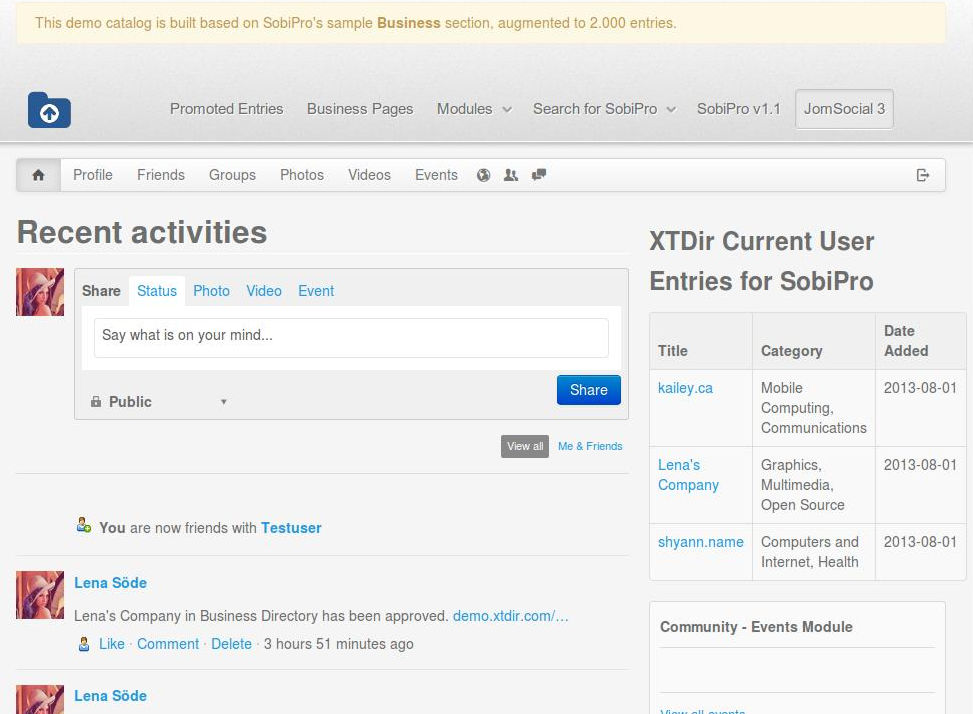 04-XTDir-My-SobiPro-Entries-Module