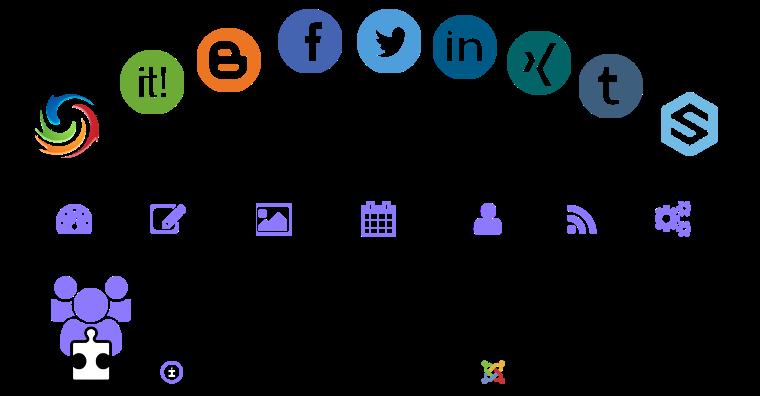 Joocial Social Cloud 2015 Social Hub