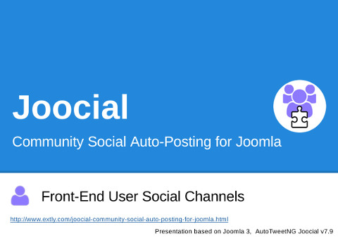 Community Social Auto-Posting