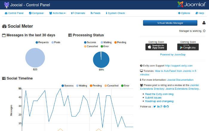 Joocial - Virtual Manager