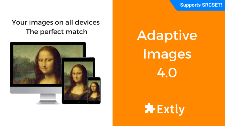 XT Adaptive Images 4: Support of HTML's new responsive image attributes