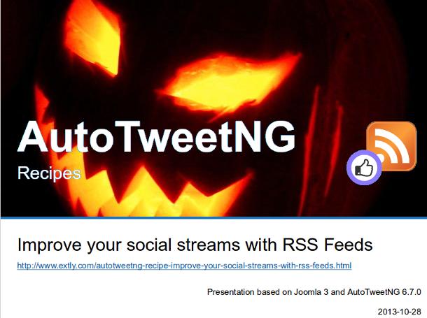 AutoTweetNG Recipe-Improve your social streams
