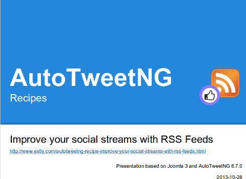 Improve your social streams with RSS Feeds