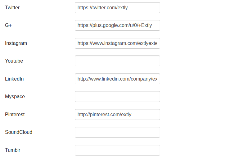 AutoTweet Social Profile Links for Google plugin - Configuration