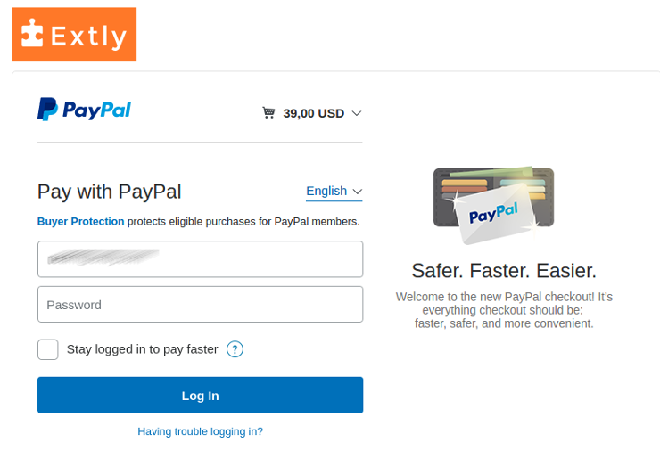 PayPal - Step 2