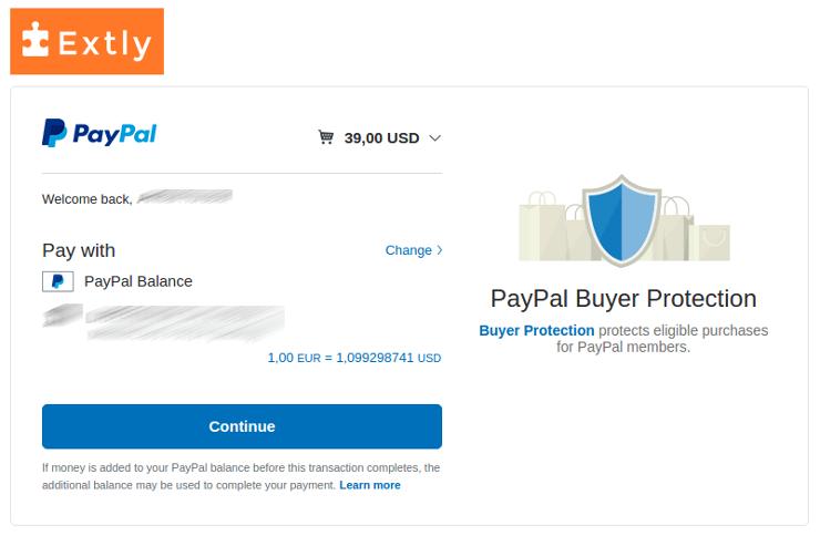 PayPal - Step 3