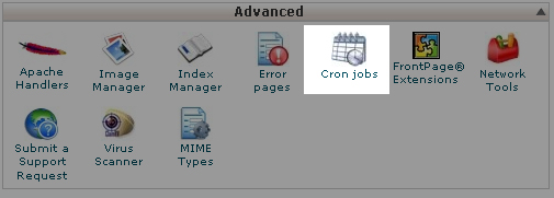 To add a new CronJob in cPanel 11