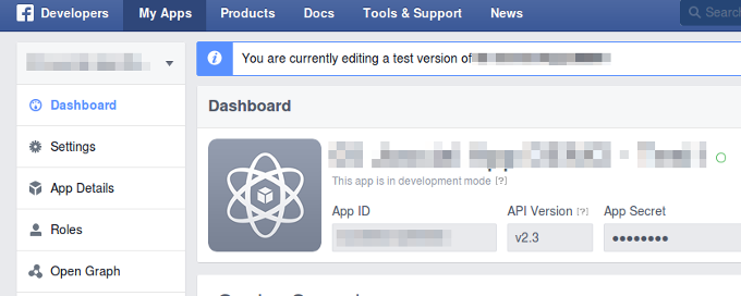 Facebook is updating Apps to the API 2.3 on April 30, 2015
