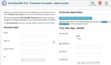 AutoTweetNG Pro-Facebook Accounts-Add Account-360