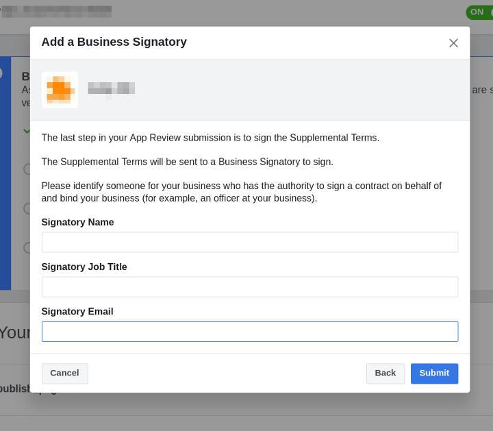 Business Verification - Step 3