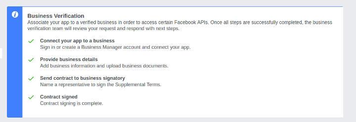 Business Verification - Step 5