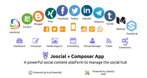 Joocial Composer App Social Cloud 2016 Social Hub Q3 560