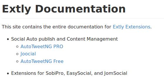 Extly Documentation