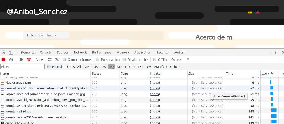 XT Workbox for Joomla - Chrome Dev Tools, console output
