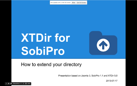 XTDir for SobiPro - How to extend your directory