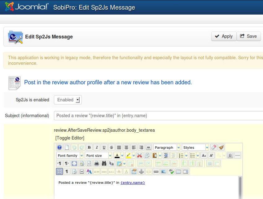 13-XTDir-SobiPro-to-JomSocial-Activity-Stream-Post-Config