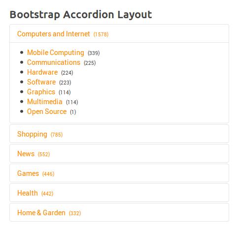XTDir Categories of SobiPro