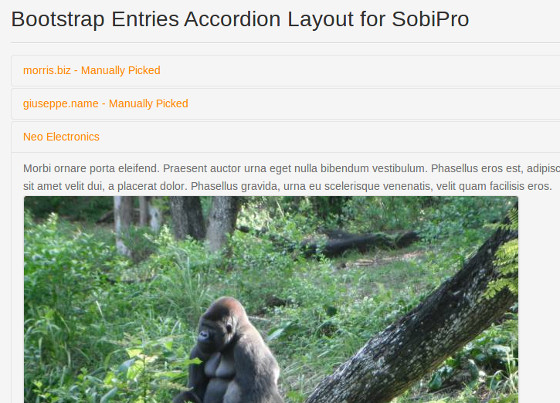 XTDir for SobiPro